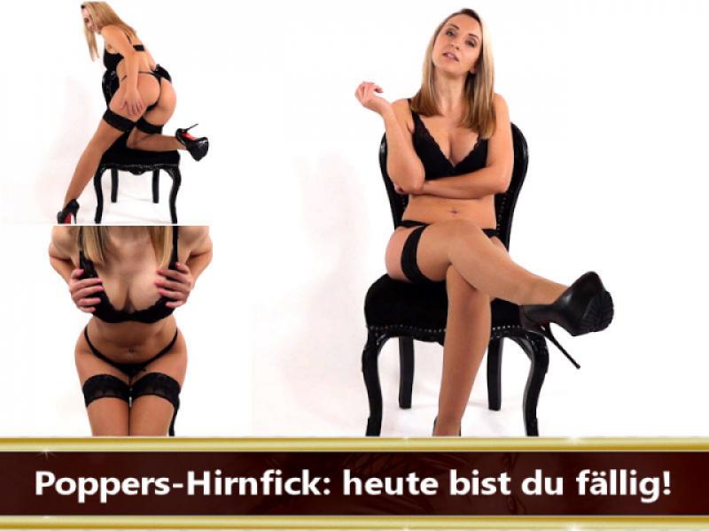 Poppers-Hirnfick: heute bist du fällig!