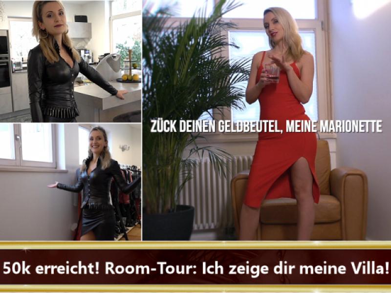50k erreicht! Room-Tour: Ich zeige dir meine Villa!