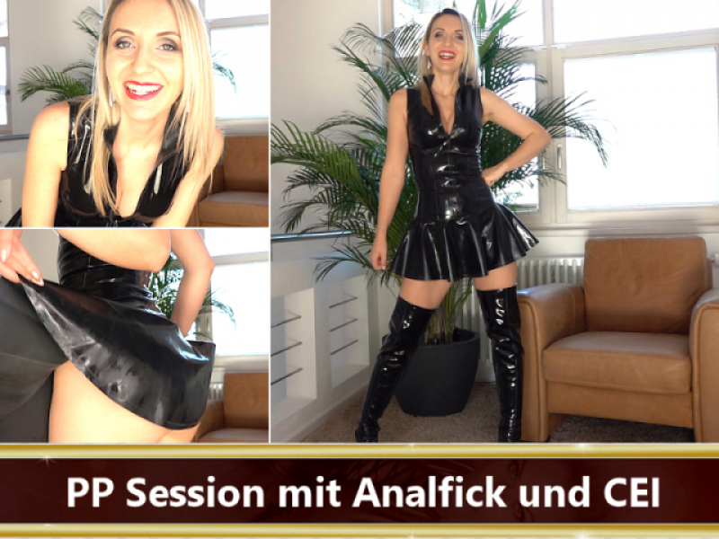 Poppers Session mit Analfick und CEI