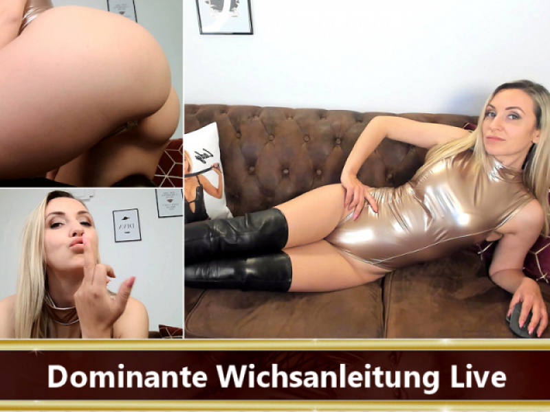 Dominante Wichsanleitung Live (Cam 27.04.21)