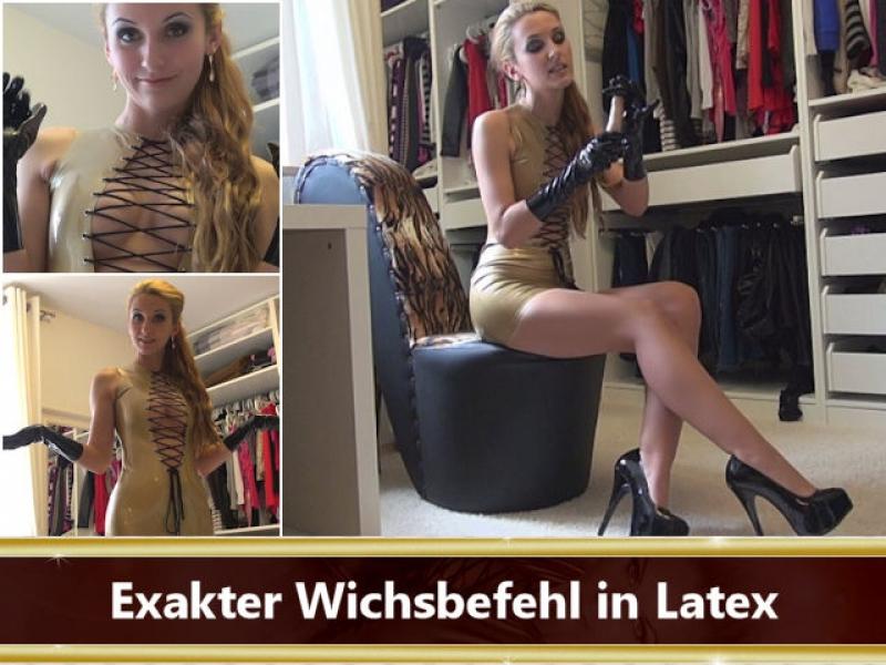 Exakter Wichsbefehl in Latex
