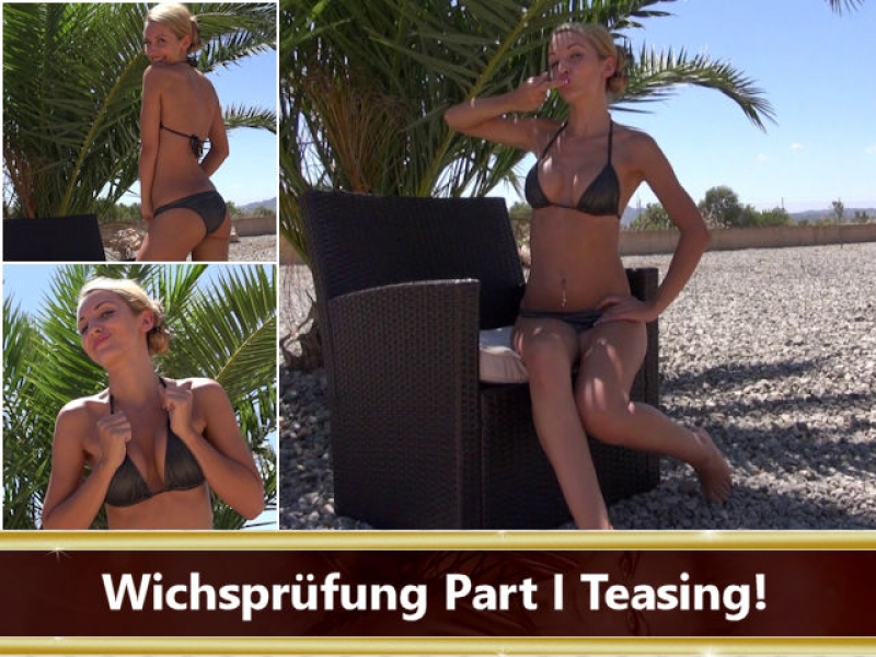 Wichsprüfung Part I Teasing!
