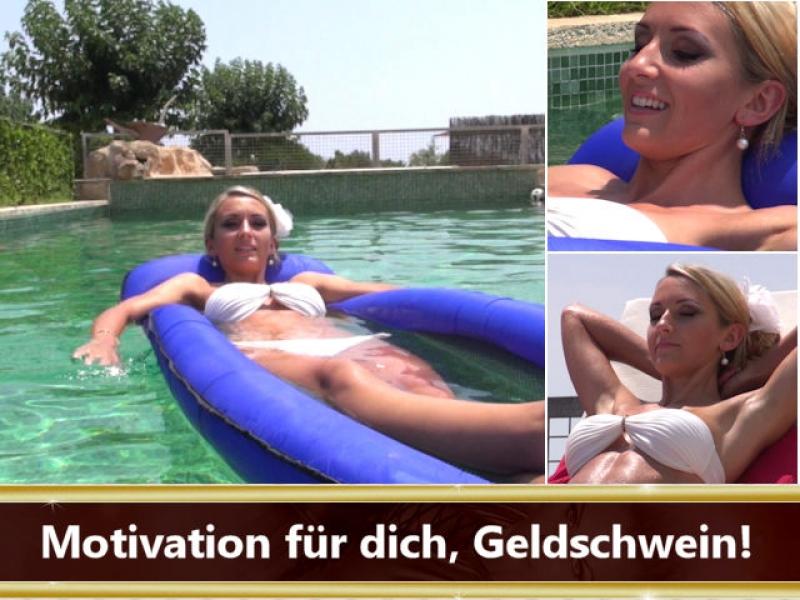 Motivation für dich, Geldschwein!