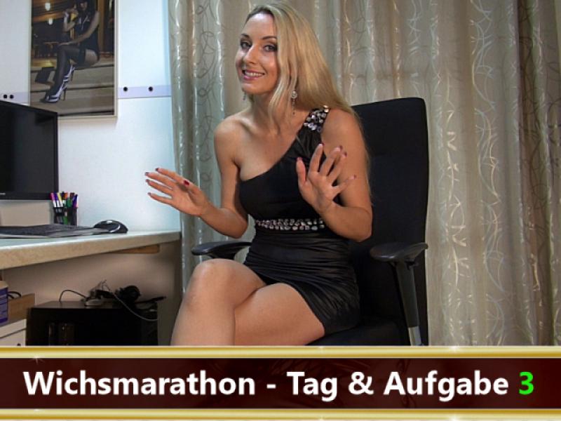 Dein Wichsmarathon - Tag 3!