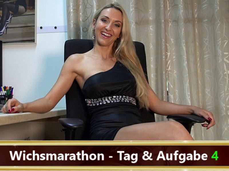 Dein Wichsmarathon - Tag 4!