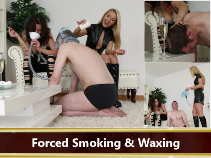 Forced Smoking & Waxing