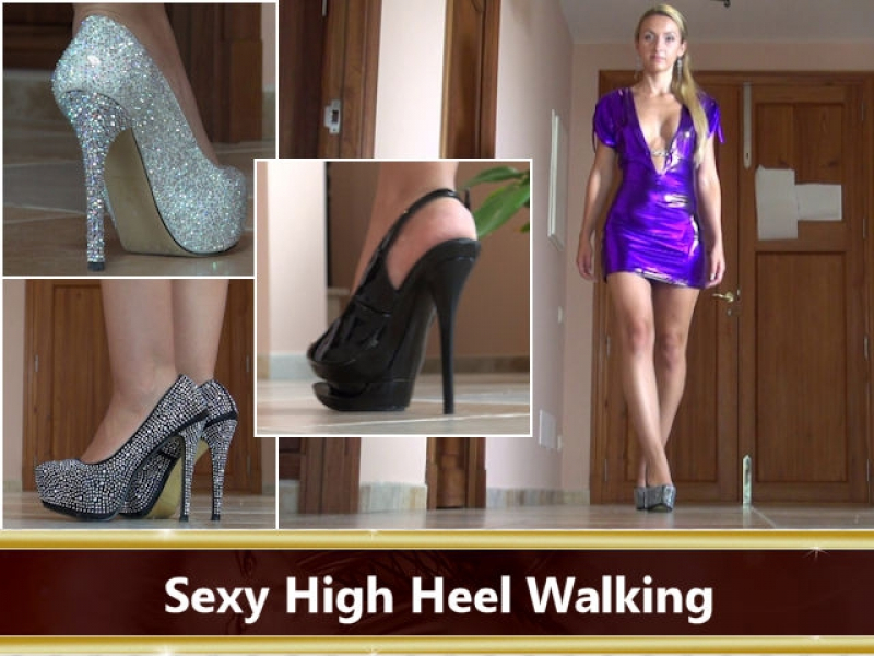 Sexy High Heel Walking