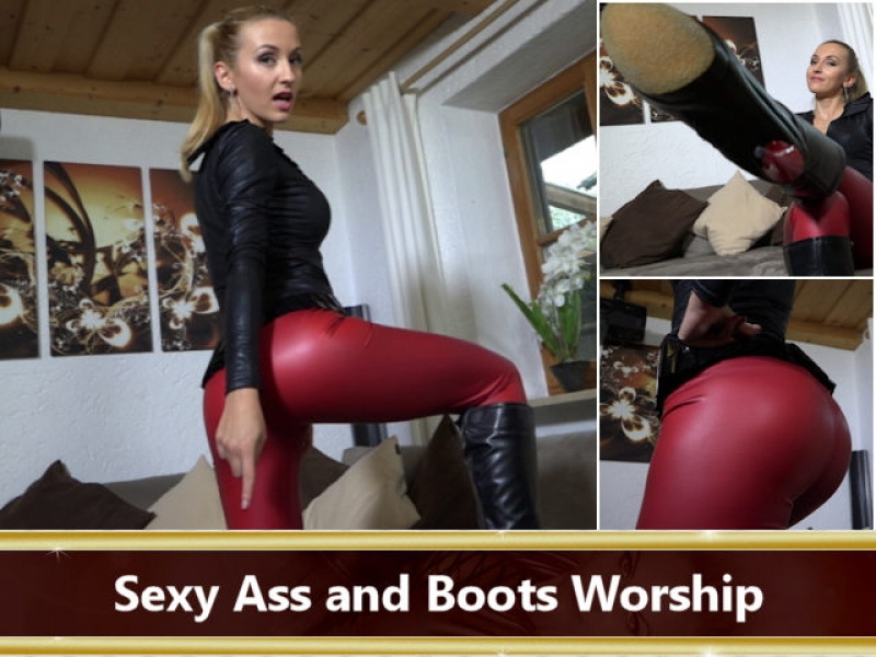 Sexy Ass and Boots Worship