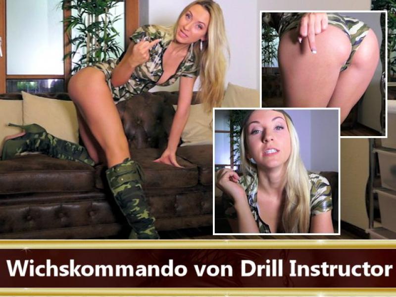 Wichskommando von Drill Instructor