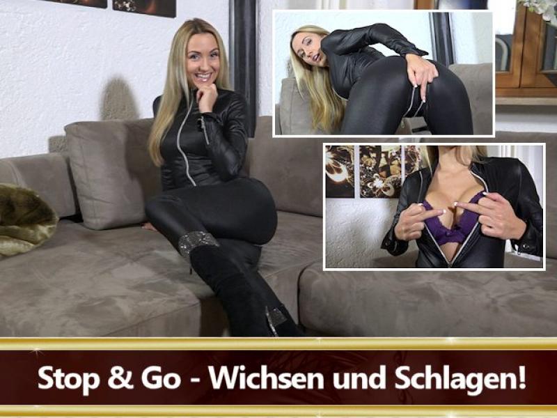 Stop and Go - Wichsen und Schlagen!