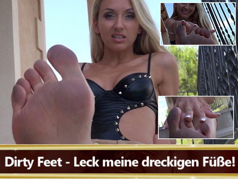 Dirty Feet - Leck meine dreckigen Füße!