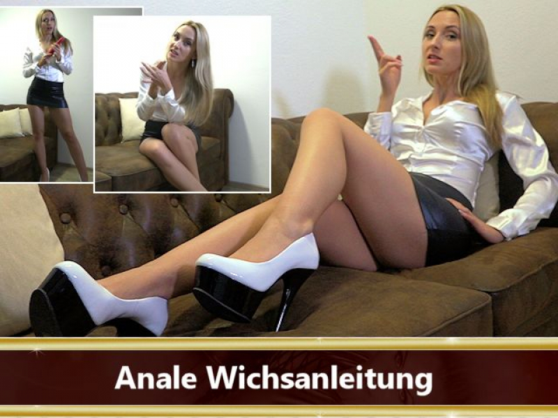 Anale Wichsanleitung