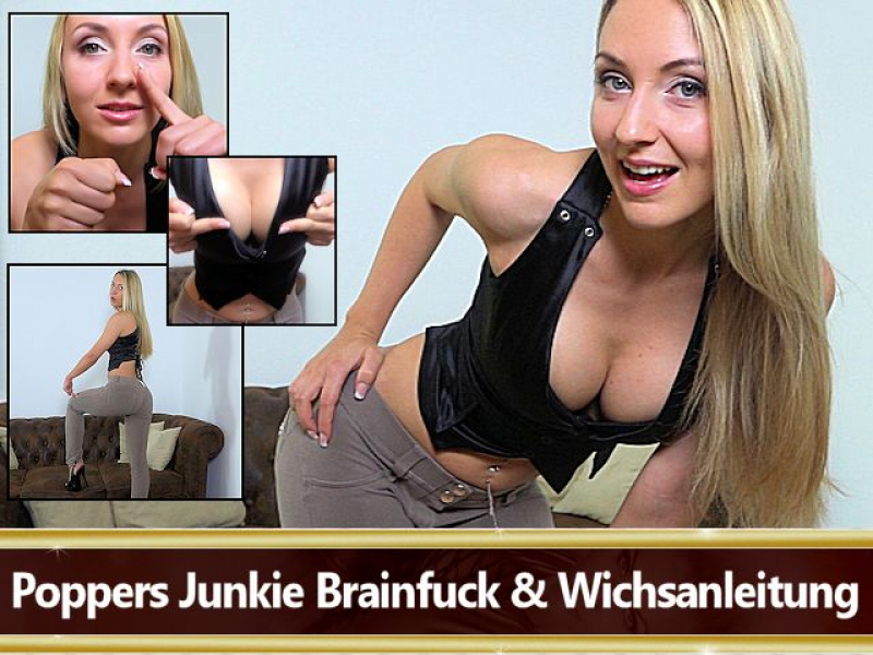 Poppers Junkie Brainfuck & Wichsanleitung