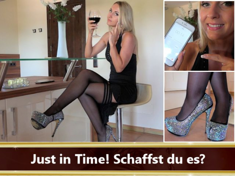 Just in Time! Schaffst du es?