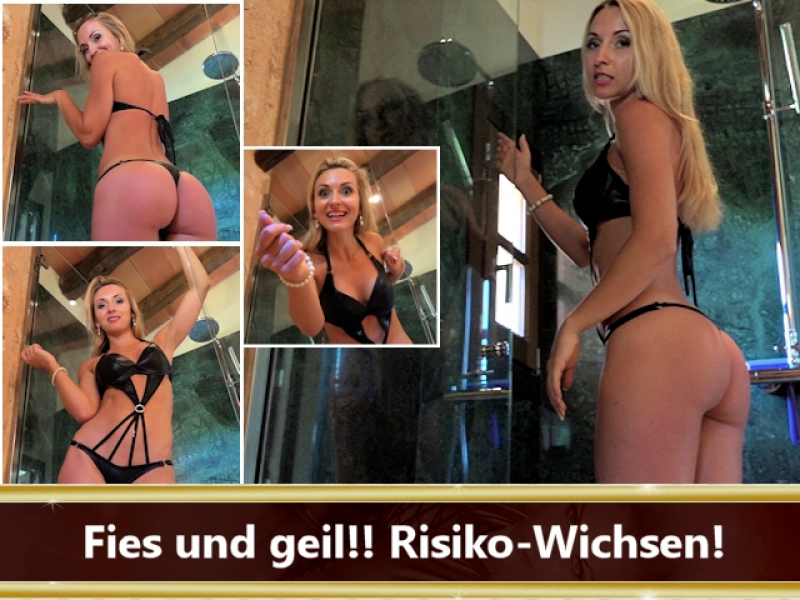 Fies und geil!! Risiko-Wichsen!
