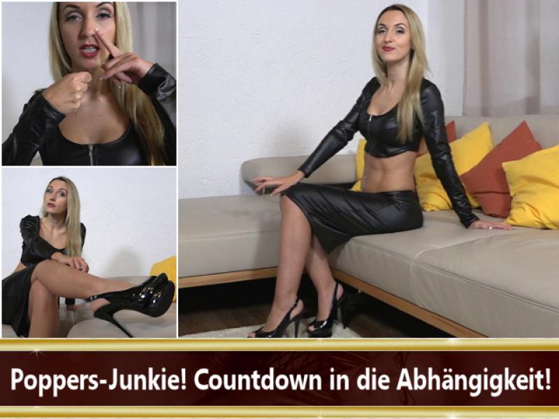 Poppers-Junkie! Countdown in die Abhängigkeit!