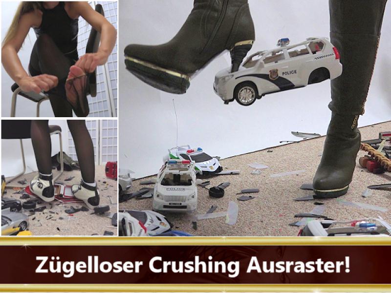 Zügelloser Crushing Ausraster!
