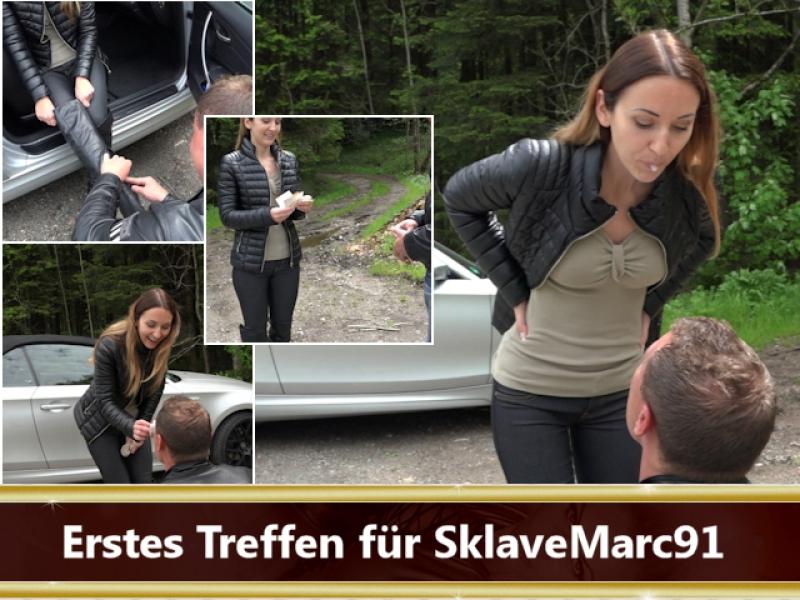 Erstes Treffen für SklaveMarc91