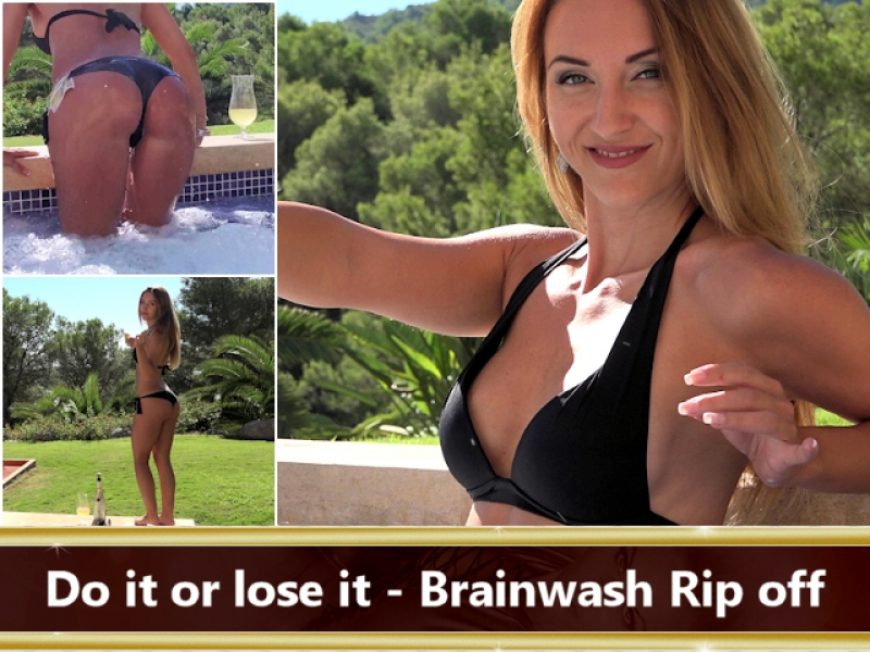 Do it or lose it - Brainwash Rip off