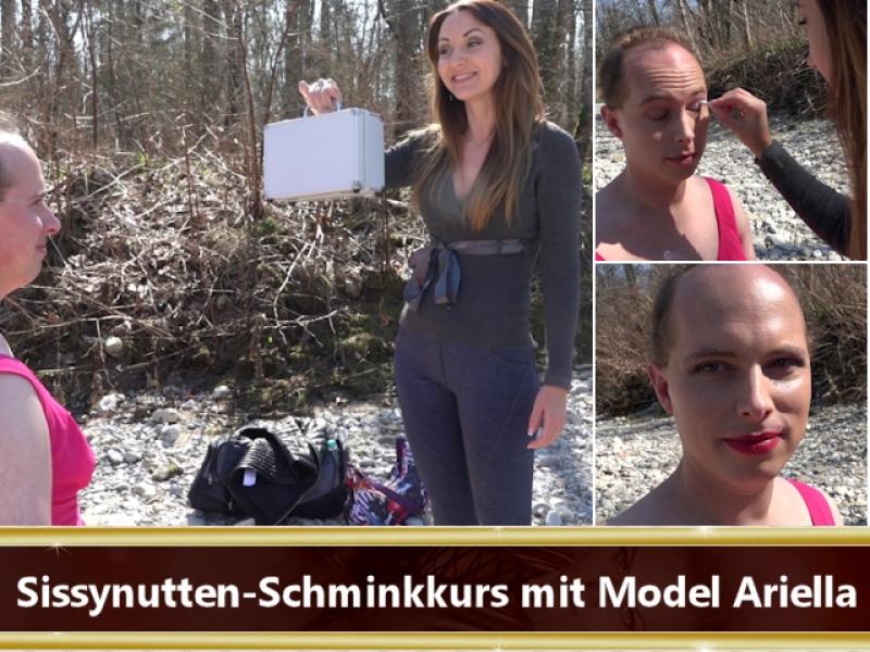 Sissynutten-Schminkkurs mit Model Ariella
