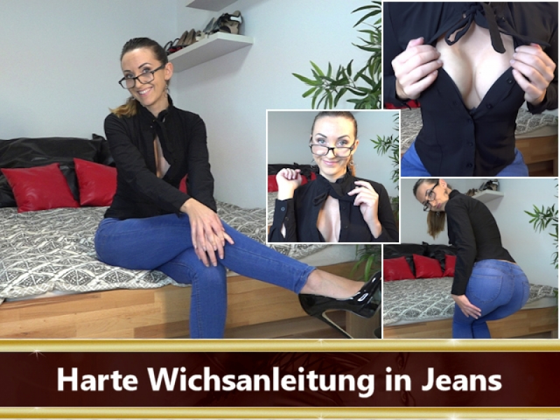 Harte Wichsanleitung in Jeans
