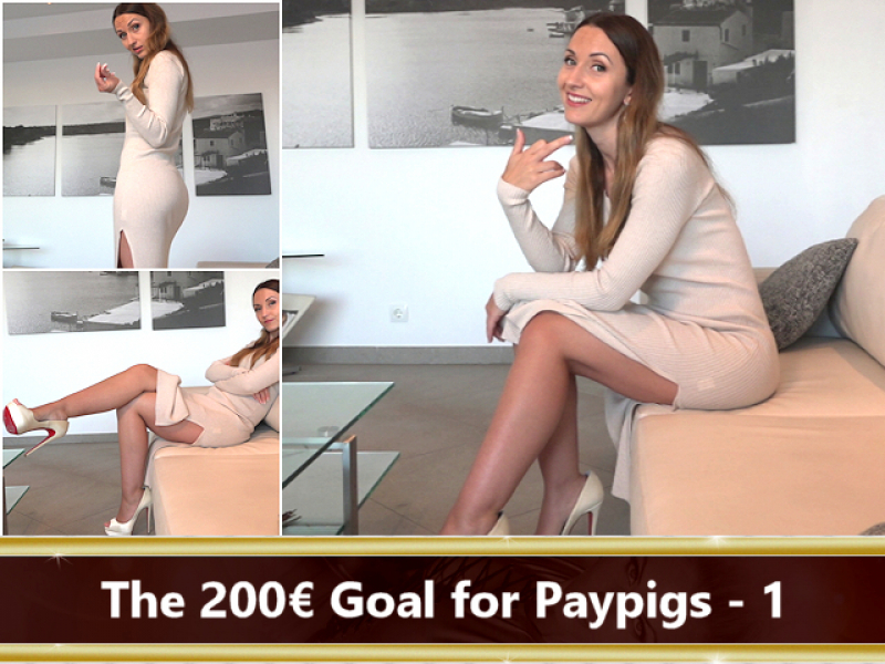 The 200 € Goal for Paypigs Part 1
