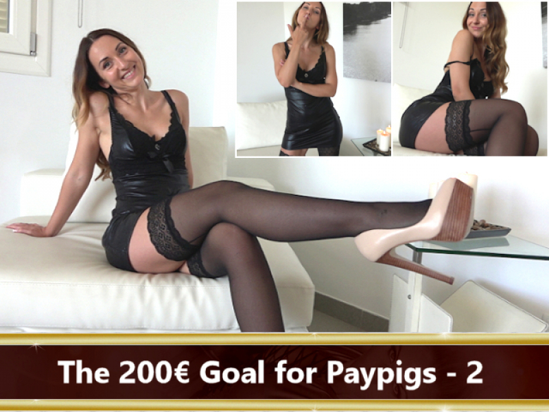 The 200 € Goal for Paypigs Part 2
