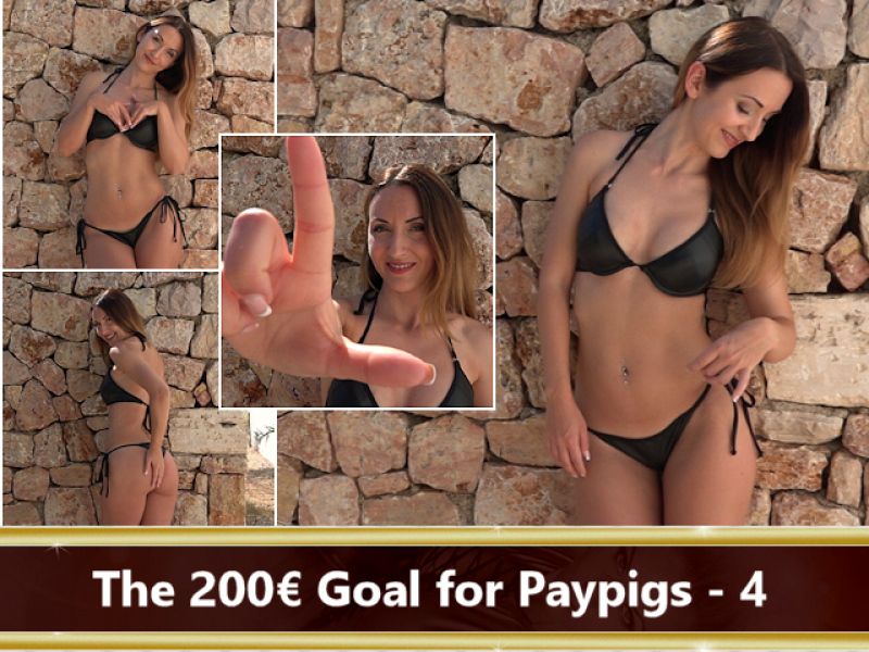 The 200 € Goal for Paypigs Part 4