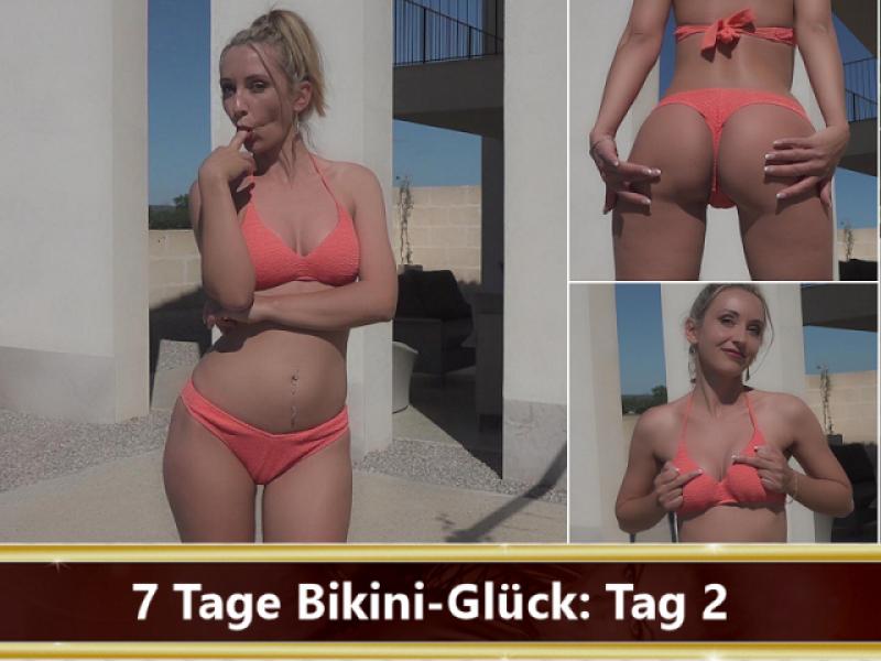 7 Tage Bikini-Glück: Tag 2