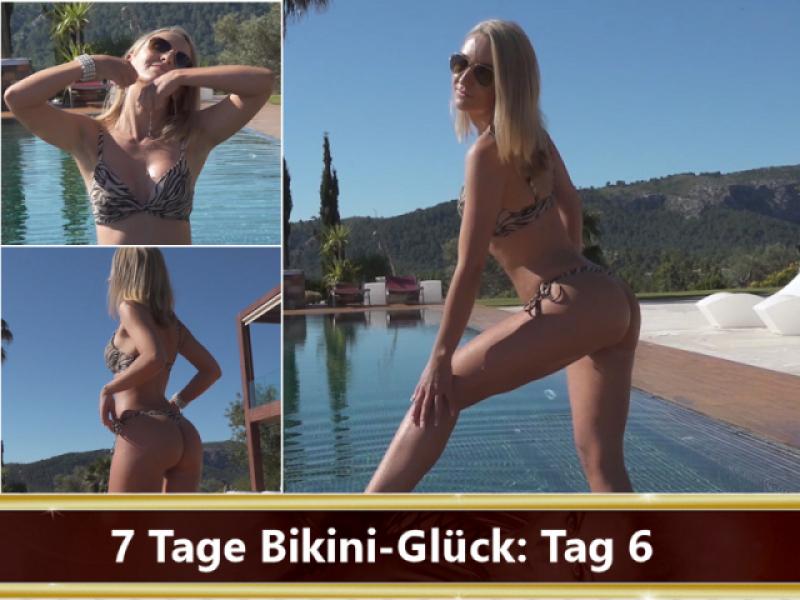 7 Tage Bikini-Glück: Tag 6
