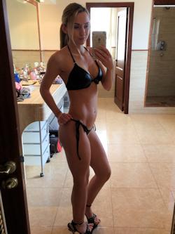 Herrin Anja Wetlook Bikini
