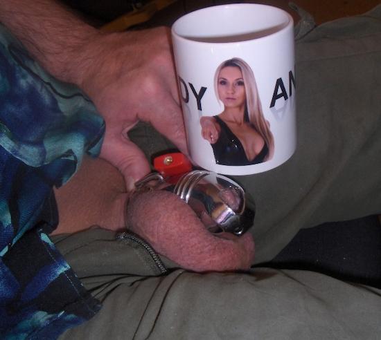 Lady-Anja Kaffeetasse Fototasse Bildtasse