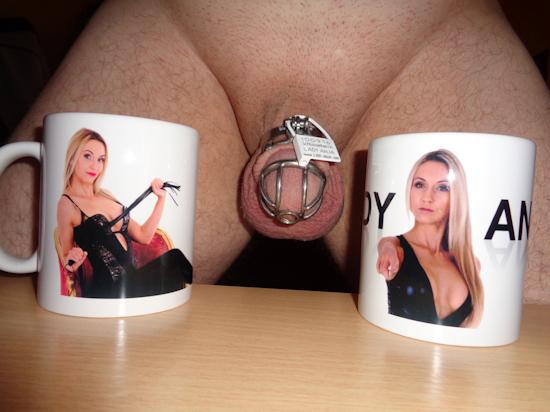 Lady Anja Bildtasse Fototasse Kaffeetasse mit Bild