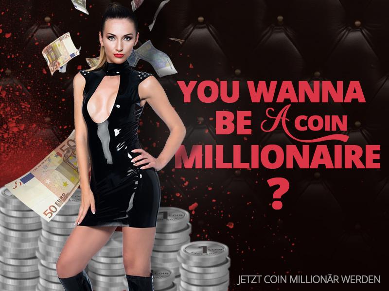 Werde jetzt Millionär - mit Coins!