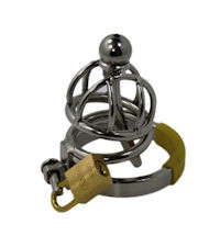 EDD LOVE-TOYS Ring Cage XXS Steel