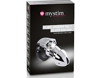 Mystim Public Enemy No 1 - Silver Editon