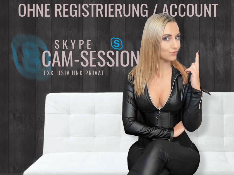 Skype Cam der Herrin - Skype Cam der Herrin