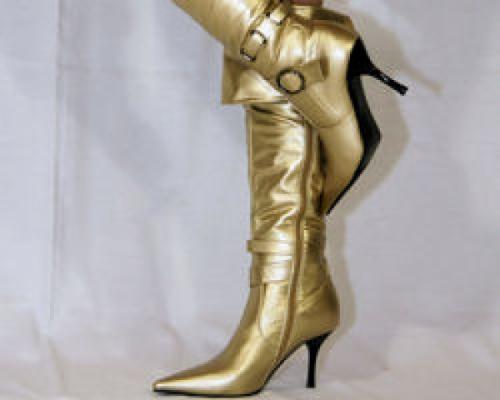 Goldene Stiefel
