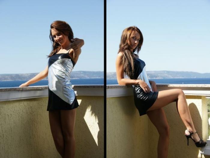 Lady Anja im Urlaub 2009