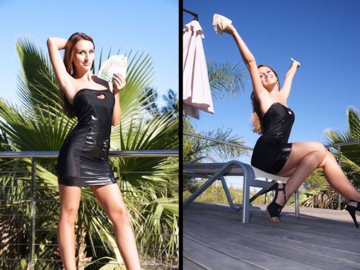 Money-Posing à la Lady Anja