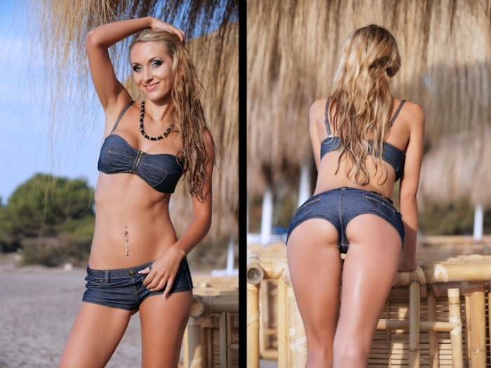 Jeans HotPant Bikini