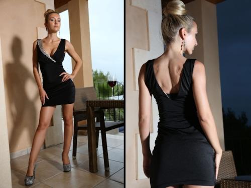 Elegant im Abendkleid