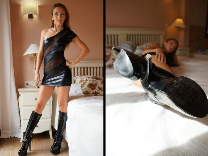 Time to lick my Boots