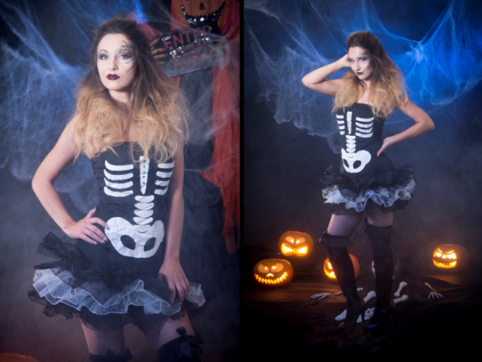 Halloween Fetish Lady Anja