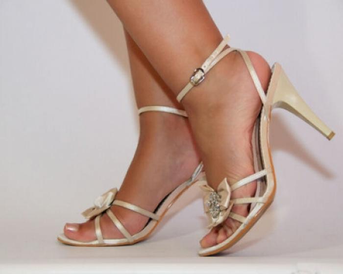 Beige High-Heels