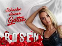 Valentinstags-Geschenk: Rosen für die Herrin
