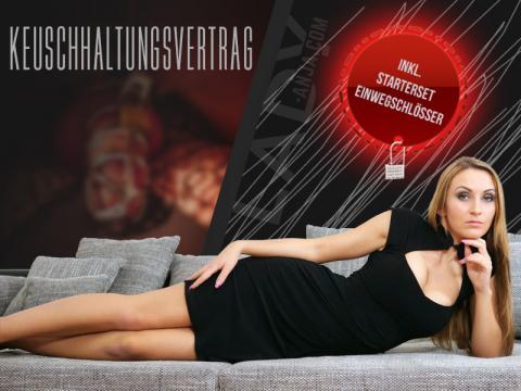 Keuschhaltungsvertrag inkl. Einweg-Schlösser sowie vertragliches Grundlagen-Regelwerk!