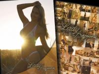 Autogrammkarte Bikini Sunset
