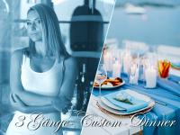 3 Gänge-Custom-Dinner für Sklaven
