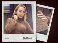 Pullover, getragen